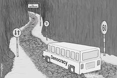Acredite, conteste, transforme em 2016 - viva democraticamente - Blue Bus