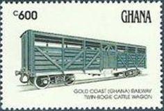 Twin Bogie Cattle Wagon