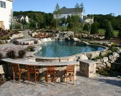 Mediterranean Pool Design, Pictures, Remodel, Decor and Ideas - page 8