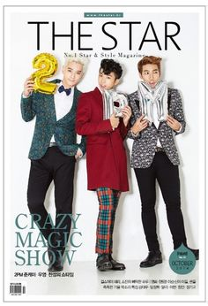 THE STAR Korean Magazine October 2014 No 19 Korea 2PM KPOP K POP K-POP