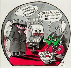 Jerzy Flisak - Kosmici wylądowali na Ziemi, lata 80. XX w.
