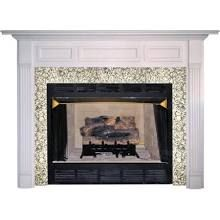 Agee Woodworks Agee Lincoln Wood Fireplace Mantel Surround, Beige