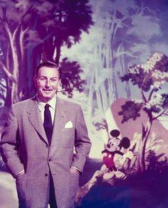 Walt Disney (1950, photo by Alfred Eisenstaedt, LIFE collection)