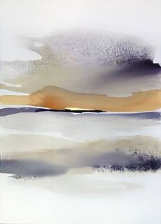 """""""In the Morning"""" - Watercolor landscape by Sabrina Garrasi"""