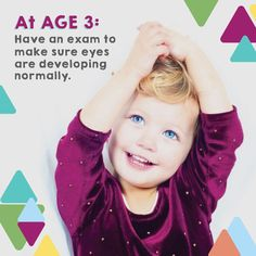 REMEMBER, kids usually don't know if something's wrong with their vision! Catch problems early with an eye exam. Book an appointment today!