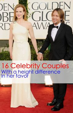 16 Celebrity Couples (with a height difference in her favor) #celebrity #famouscouples #tallwomen