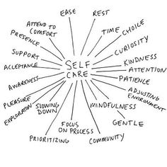 Self care - it's crucial!