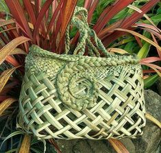Flax Weaving, Basket Weaving, Woven Baskets, Nz Art, Art For Art Sake, Sisal, Flax Flowers, Cultural Crafts, Maori Designs