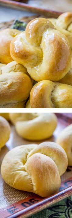 Sweet potato rolls - The Food Charlatan