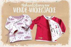 Nähanleitung: Eine Wende-Wickeljacke für's Baby nähen | Lybstes. | Bloglovin'