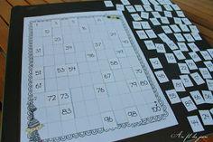 Je dépose ici 2 fichiers que j'ai utilisés pour ma puce cet été ... Pour Léa, le fonctionnement de la grille des nombres n'était ...