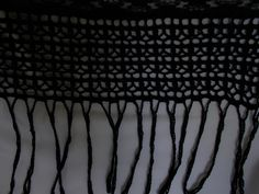 (1) Палантин вечерний «Паутинка» модель 3 - одежда ручной работы
