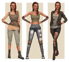 Sims 3 Cc Clothes, Sims 4 Clothing, Apocalyptic Clothing, Post Apocalyptic, Sims 4 Seasons, Zombie Apocalypse Outfit, Sims 4 Characters, Sims 4 Mm Cc, Cyberpunk
