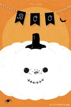 Carte {Halloween} © Môme Nuage