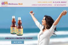 Get 15% Discount insantly on every products of Wellness Mall Buy Groayu Growth TONIC - WellnessMall Visit http://goo.gl/XQEutD Tel : 9022044002 Price : ₹250.00 Sold by: WellnessMall SKU: 180. Category: Tea