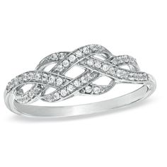 Diamond Infinity Knot Ring in Sterling Silver at Gordon's Jewelers - CT. Diamond Infinity Knot Ring in Sterling Silver. Jewelry Rings, Jewelry Accessories, Jewlery, Diamond Jewelry, Gold Jewelry, Jewelry Armoire, Dainty Jewelry, Metal Jewelry, Jewelry Ideas