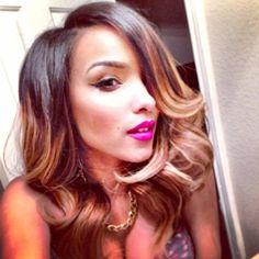 Simone sexy hair!