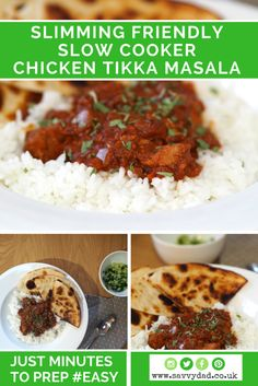 Try this great slimming world friendly chicken tikka masala. It's great for your budget and for your waistline!