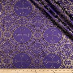 Clergy Metallic Brocade Purple/Gold Fabric Vittelex Fabrics http://www.amazon.com/dp/B00SJH41WY/ref=cm_sw_r_pi_dp_WC3Nvb0Z98B38