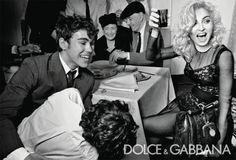 madonna dolce & gabbana 2011