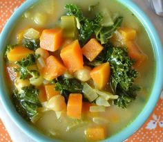 This simple soup greets you with sweet and savory notes in a light, nurturing broth.  Cooked carrots and parsnips carry a heavy sweetness while brightly bitter collard greens lighten this nurturing soup. Light soups help you shed the winter blues and enjoy the brightness of Spring as they aid your body through a natural detox cycle.