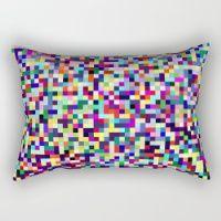 Pixel Heart Rectangular Pillow