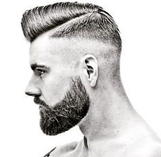 Image could contain: 1 person The Effective Pictures We Offer You About hair and beard styles gray A Cool Hairstyles For Men, Hairstyles Haircuts, Haircuts For Men, Beard Haircut, Fade Haircut, Mens Facial, Facial Hair, Short Hair Cuts, Short Hair Styles