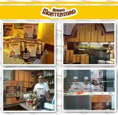 Case History personalizzazione pizzeria.  Campagna Montenegro