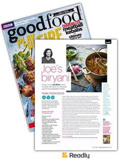 Suggestion about BBC Good Food July 2017 page 91