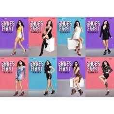 Muitos sapatos e muitas Thailas... Estamos apaixonadas pela nossa campanha nova. E vocês? http://ift.tt/1SLG2kZ