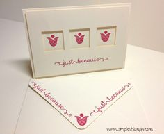 ... Stampin' Up! Cards on Pinterest | Nativity, Blossoms and Envelopes