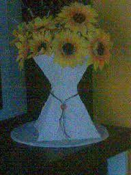 Resultado de imagem para vaso de papelão