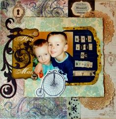 Brothers and best friends - Scrapbook.com