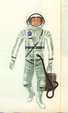 This is Cape Canaveral: astronaut. By M. Sasek, 1963.