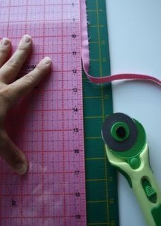 cutting tips. I use steps 1 - 5 to square off my fabric for all of my projects.