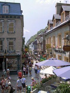 Rue de Petit Champlain, Quebec City. Visit the slowottawa.ca boards:  http://www.pinterest.com/slowottawa/