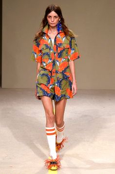 House of Holland spring/summer 2016 collection show pictures   Harper's Bazaar
