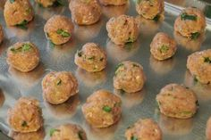 Chicken meatballs for baby-led weaning