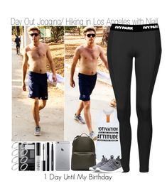 """""""1 Day Until My Birthday~Day Out Jogging/Hiking in Los Angeles with Niall"""" by elise-22 ❤ liked on Polyvore featuring Topshop, Valentino, NIKE, MAC Cosmetics, shu uemura, NARS Cosmetics, Wet n Wild and ASOS"""