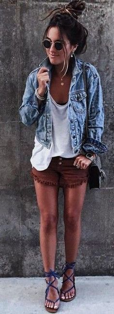 Denim OOTD                                                                             Source