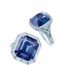 Tiffany & Co. 2014 Blue Book Sapphire Rings