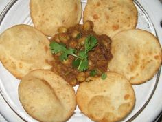 Chhole Puri    Know more:  http://hyderabadcateringservices.com