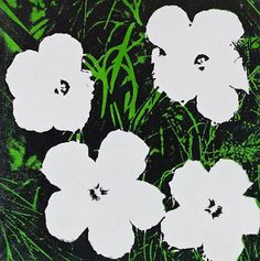 Andy Warhol - Flowers - 1964