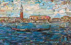 Vik Muniz, Venice, 2014, Postcards from Nowhere, Digital C print, 101,6 × 160,3 cm  AP 3/4 aside from an edition of 6, MUNI0159