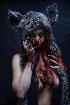 Dark Red Riding Hood?