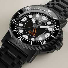 H2O ORCA DIVE DLC GMT with ETA 2893-2 GMT movement