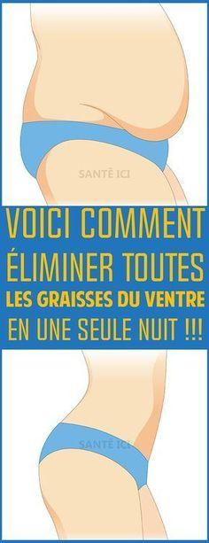Voici comment éliminer toutes LES GRAISSES DU VENTRE en une seule nuit !!! #maigrir #astucesminceur #astucesmaigrir #perdredupoids #manger #regime #diet #fitness #weightloss #yoga @santeici
