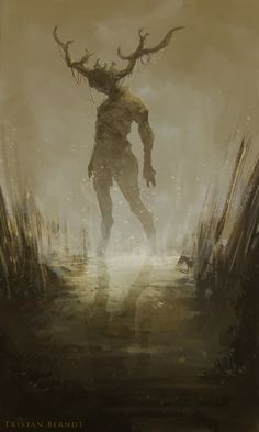 Swamp Walker (sketch) by TristanBerndtArt.deviantart.com on @DeviantArt