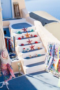 Little shop in Oia - Santorini, Greece