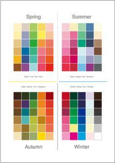 Deep Autumn Color Palette, Deep Winter Colors, Spring Colors, Color Mixing Chart, Color Combos, Kalender Design, Skin Undertones, Seasonal Color Analysis, Color Me Beautiful